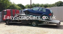VW Golf Scrapping Car