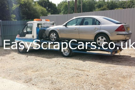 Ford Mondeo Scrap Car